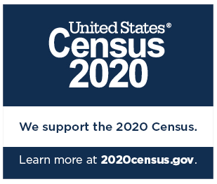We support the 2020 Census.